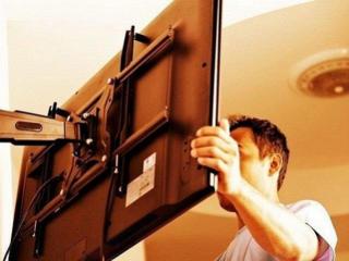 Установка и монтаж телевизоров на стену. Качественно. Крепления для тв