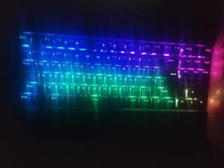 Продам механическую клавиатуру Aula Hyperion в идеальном состоянии