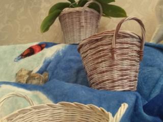 Плетеные кашпо ЭкоДекор handmade.