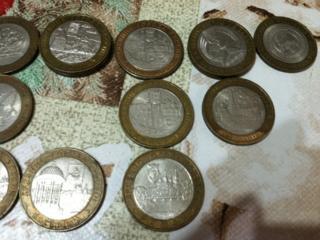 Десять рублей которые приносили радость для коллекции, Значки фауны...