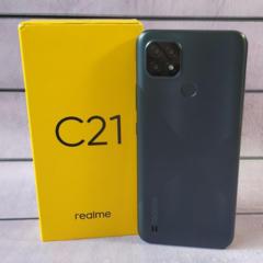 Realme C21 (VoLTE+GSM) 4/64 ГБ / Аккумулятор 5000 мАч / РАССРОЧКА