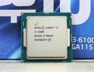 Core i3 6100 soket сокет 1151