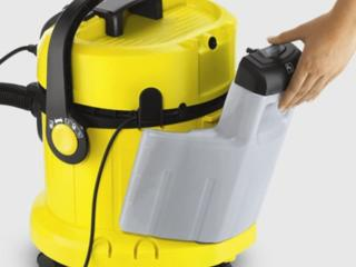 Vand aspirator profesional Kracher + Aparat de curatat cu abur