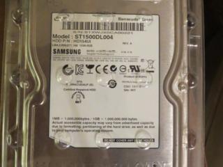 Жесткий диск 1.5Tb Samsung HD154UI/Seagate Barracuda Green ST1500DL004