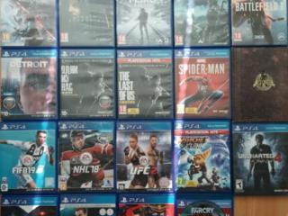 Продам недорого диски PS4,джойстик PS4