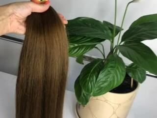 Волосы натуральные 50 см - 155 дол