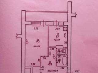 Продается большая однокомнатная квартира в центре Тирасполя