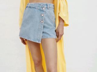 ZARA юбка шорты оригинал