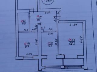 Продаётся 3 комнатная квартира, в новом доме, по ул., Садовая