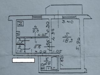 Продам 2-комнатную квартиру на Бочарова