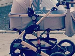Продам коляску-трансформер 2в1 Moni gala beige
