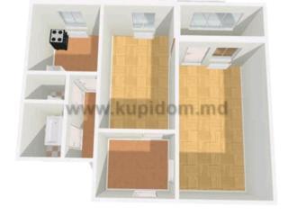 2 комнатная в Тирасполе на Балке
