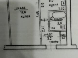 Продам однокомнатную квартиру в центре
