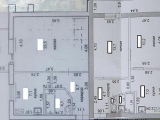 Эксклюзив! Продажа двух соседних квартир (2комн и 1комн) - 84кв. м.