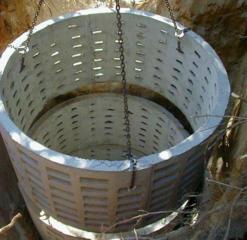 Копаем канализацию траншеи сливные ямы септики