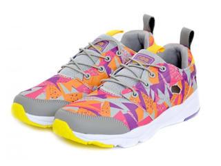 Кроссовки для бега женские серо-оранжевые 36 размер