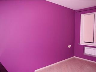 Покраска стен и потолков, обои, багет, откосы
