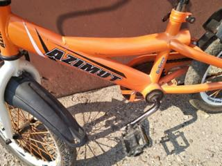 Продам детский велосипед, со съемными боковыми колесами