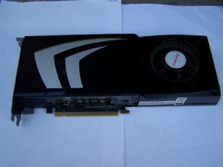 GTX260 896MB/448b - 400p, GF9800GTX+ 512MB - 330p, HD6570 2GB - 500p
