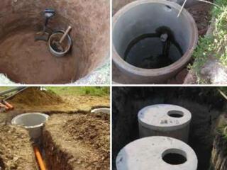 Копаем канализаций вручную и техникой есть бетонные кольца копаем канализаций