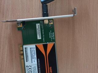 Wi-Fi pci адаптер для пк (внутренний)