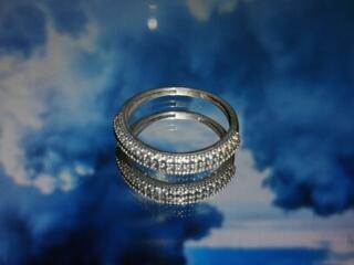 Серебряное кольцо 925 пробы 17 размер