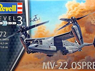 Сборная модель Конвертоплана «MV-22 Osprey».