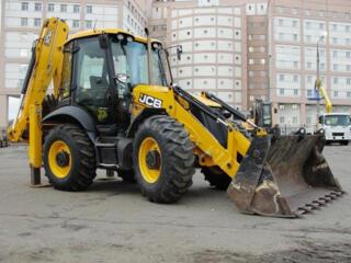 Услуги аренда колесного экскаватора - погрузчика JCB 3CX в Одессе.