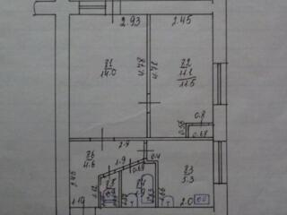 Двухкомнатная квартира 38 м. 2., ул. Мичурина дом №39, 4-эт/5, 11000 $