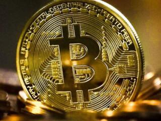 Сувенирная монета Биткоин (BTC)