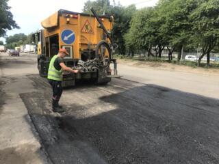 Ямковий ремонт дороги асфальту Львів