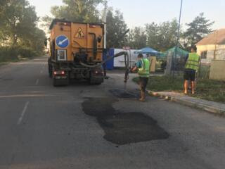Залатати яму Львів ямковий ремонт дороги