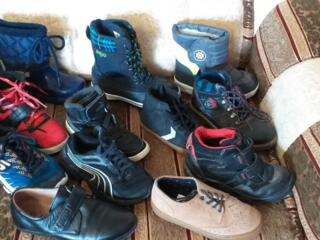 Фирменная обувь мальчику разные размеры