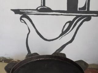 Сковорода из бороны