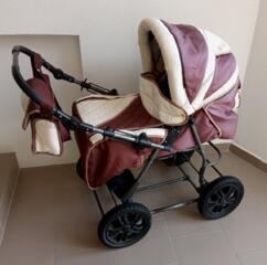 Универсальная детская коляска Bambino (Зима-Лето).