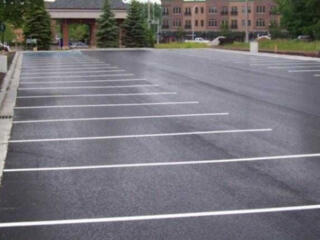 Асфальтування під ключ стоянки складу парковки дороги тротуару доріжки