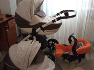 Carucior 3 in 1 Adamex cu scaunel auto.