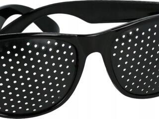 Очки для тренировки глаз ( перфорационные очки-тренажеры ) 150 руб