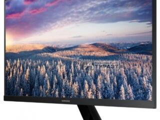 почти новый монитор 24 дюйма IPS, 1920x1080/75Гц HDMI/D-SUB