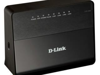 Продам Wi-Fi роутер D-Link DIR-300/D1 - 4 порта