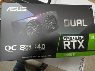 Продам RTX 3060 ti!!! Новая!