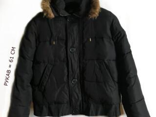 Куртка утепленная с капюшоном