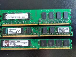 Продаю 3 планки DDR2-800MHz 2GB PC2-6400 Писать на почту