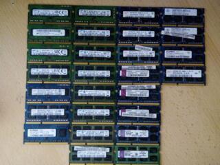 DDR3 2гб-4гб 1600 ноутбук Обычные и L 250р