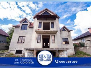 Colonița str. Tineretului casa cu 2 nivele 350 m2 12 ari de terenVă ..