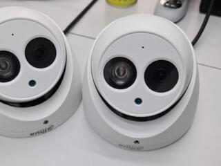 Комплект видеонаблюдения 6 уличных и 2 внутренние камеры