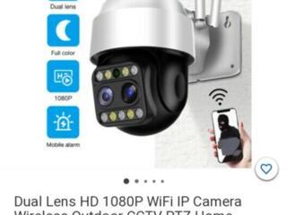 Купольная Wifi камера видеонаблюдения, видеодомофон