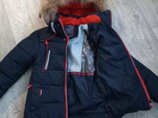 Зимняя куртка на мальчика 2-3 года