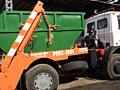 Вывоз бытового и строительного мусора контейнером!!!