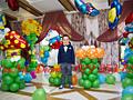 Decor cu balonașe la diverse ceremonii